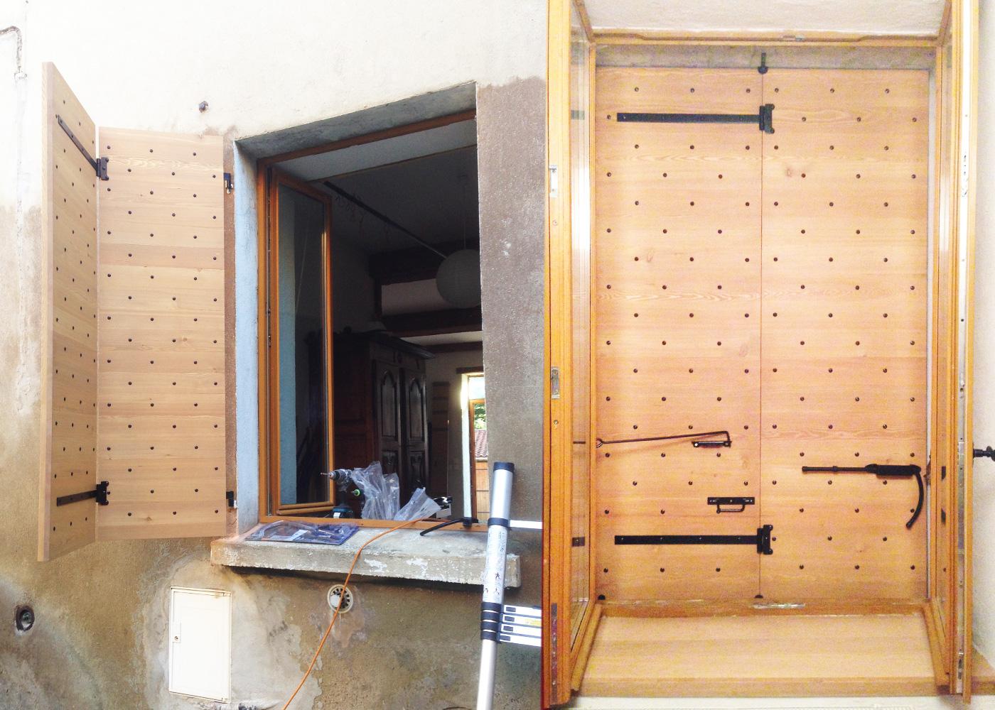 volets proven aux atelier des monts d 39 or. Black Bedroom Furniture Sets. Home Design Ideas